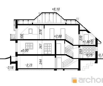 Проект  Дом в каллах (П), 279.5 м2