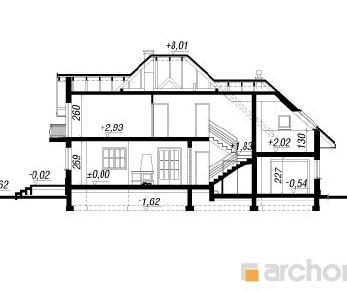 Проект  Дом в вербене 3, 174.3 м2