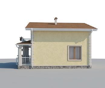 Проект дома AS-2195, 105 м2