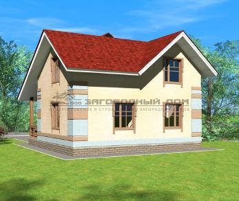 Проект дома Мелихово, 122 м2