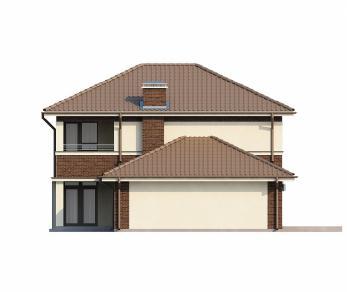 Проект дома Проект Zx24, 162.5 м2