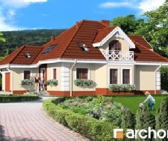Проект  Дом в мимозах, 177.2 м2