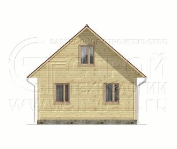 Проект дома Дачный дом 6х9 м (базовая комплектация), 54 м2