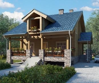 Проект дома AS-2062-2, 131 м2