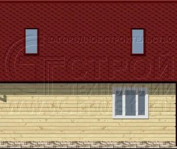 Проект дома Проект дома №69, 58.5 м2