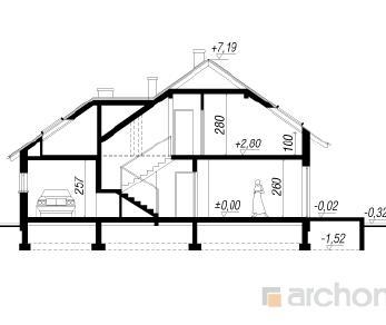 Проект  Дом под лиственницей, 183.8 м2