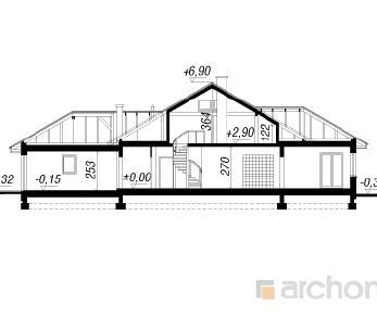 Проект  Дом в настурциях 3, 231.5 м2
