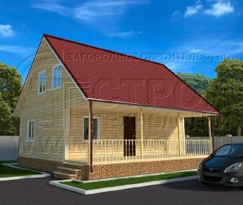 Проект дома Проект дома №112, 54 м2