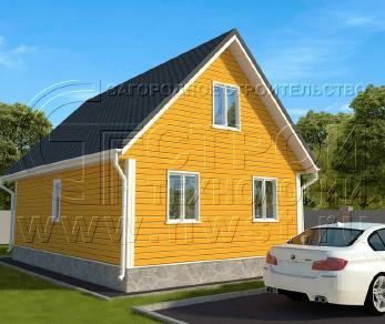 Проект дома Проект дома №118, 54 м2