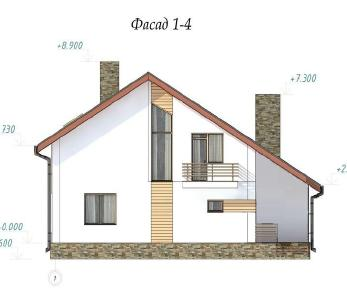 Проект  Ярослава 3, 204 м2