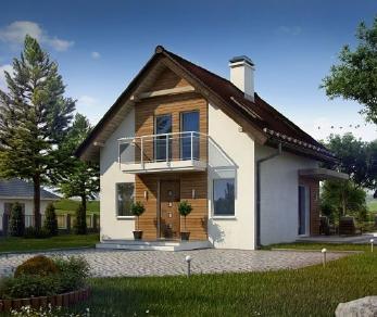 Проект дома Проект z264, 78.2 м2