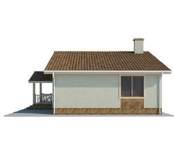 Проект дома AS-2021, 91 м2
