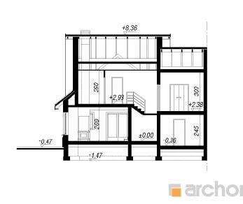 Проект  Дом в ревене (Б), 164.3 м2