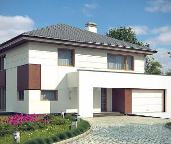 Проект дома Проект z156, 239.1 м2