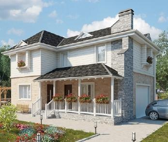 Проект дома AS-2086, 135 м2