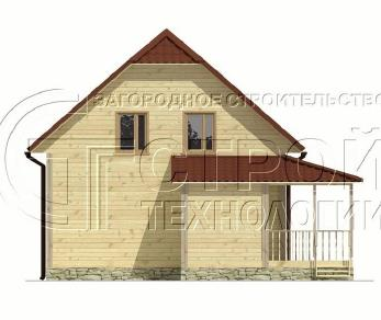 Проект дома Проект дома №10, 71 м2
