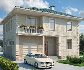 Проект дома AS-2014, 150 м2