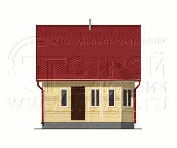 Проект дома Проект дома №58, 38 м2