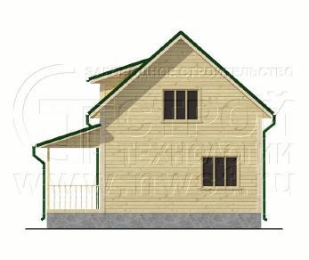 Проект дома Проект дома №83, 50 м2
