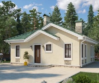 Проект дома AS-2236, 81 м2