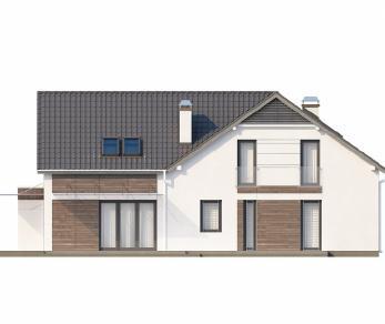 Проект дома Проект Z138, 282.3 м2