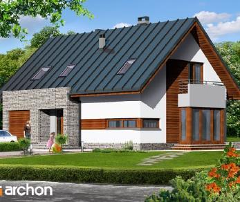 Проект  Дом в драценах, 166.8 м2