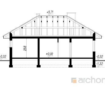 Проект  Дом в дикоросах, 126.2 м2