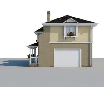 Проект дома AS-2086-2, 135 м2