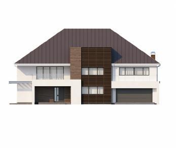 Проект дома Проект Zx20, 433 м2