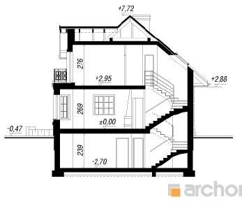 Проект  Дом в рукколе (П), 194.9 м2