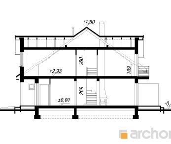 Проект  Дом в клематисах 9 (Б), 127.2 м2