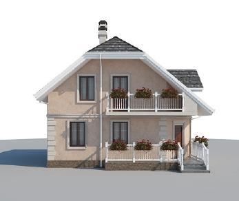 Проект дома AS-2188, 110 м2