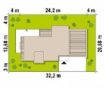 Проект дома Проект Zx1, 314.9 м2