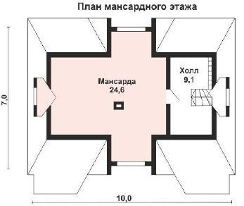 Проект дома AS-2181-2, 97 м2