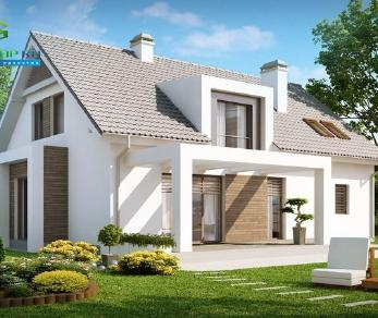 Проект дома Проект z236, 210.4 м2