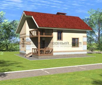Проект дома Успенское, 129 м2