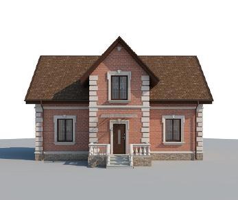 Проект дома AS-2196, 159 м2