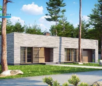 Проект дома Проект zx13, 156.2 м2