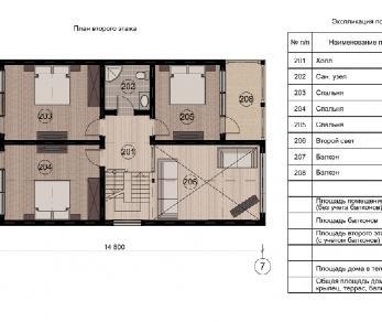Проект дома КП-004, 202.4 м2