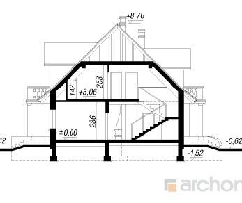 Проект  Дом под дубами 2, 246.2 м2