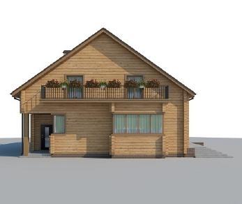 Проект дома AS-543-3, 234.4 м2