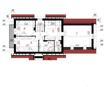 Проект  Дом в горошке Г2, 189.8 м2