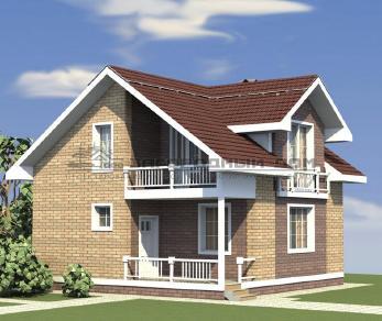 Проект дома Мураново, 106.2 м2