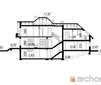 Проект  Дом в вербене (Г2П), 239.1 м2