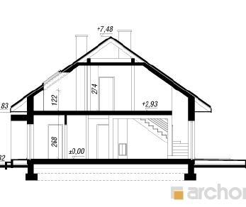 Проект  Дом под красной рябиной (ГПДН), 203.1 м2