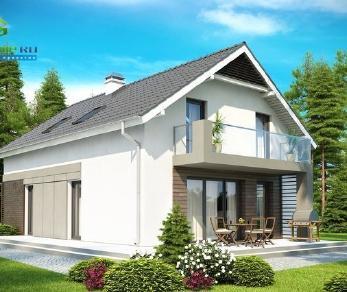 Проект дома Проект z168, 183.2 м2