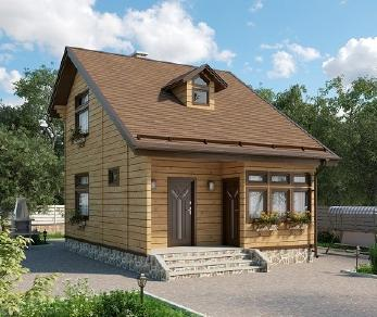 Проект дома AS-2235, 63 м2