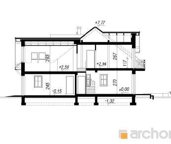 Проект  Дом в клематисах 5 (Б), 120.2 м2
