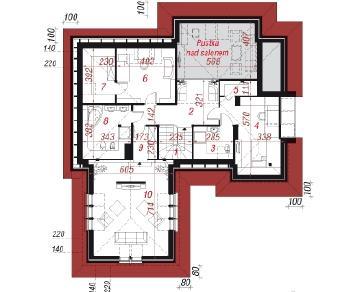 Проект  Дом в хеномелесе 3, 244.8 м2