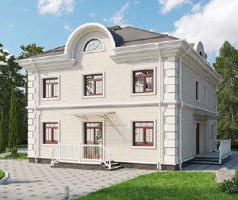 Проект дома AS-2208, 262 м2